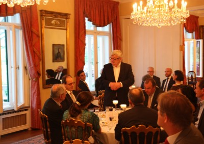 Dinner at the Residence of the British Ambassador