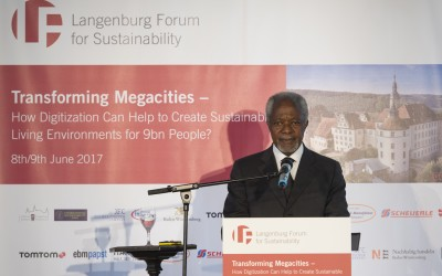 Kofi Annan, Guest of Honor