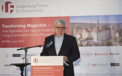 Welcome Address by Joschka Fischer