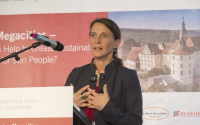Xenia zu Hohenlohe-Langenburg, Moderator of the Langenburg Forum 2017
